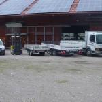 Gerüstbau - Fahrzeuge