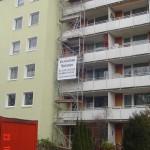 Turmgerüst in München - Trudering