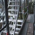 Gerüsttreppe in München