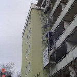 Gerüst - Turm in Trudering (München)