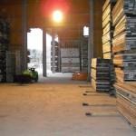Lagerplatz für Gerüstverleih