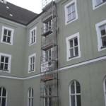 Turm Gerüst Polizeischule Fürstenfeldbruck