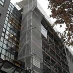 Fassadengerüst in München