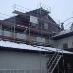 Fassadengerüst in Olching