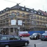 Gerüstbau Fürstenfeldbruck mit Gitterträgern
