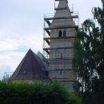 Gerüst Kirche Malching