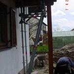 Traggerüst in Gernlinden bei Maisach