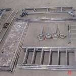 Fahrgerüst - Teile