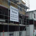 Baugerüst in München Trudering
