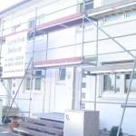 Gerüst in Puchheim für WDVS