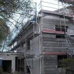 Fassadengerüst in Pullach