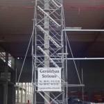 Gerüstbau Treppenturm