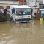 Hochwasser in Ampermoching