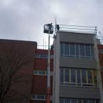 Absicherung für Flachdach