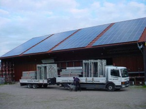 Gerüstbau und Photovoltaik