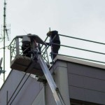 Sicherung für Flachdach nahe München
