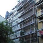 Baugerüst und Verleiher in Schwabing