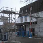 Gerüstbauer Unterschleißheim Kabelbrücke