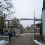 Gerüstverleih Unterschleißheim Kabelbrücke
