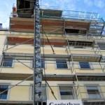 Bauaufzug und Gittermastaufzug in München