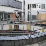 Randsicherung auf Flachdach in München