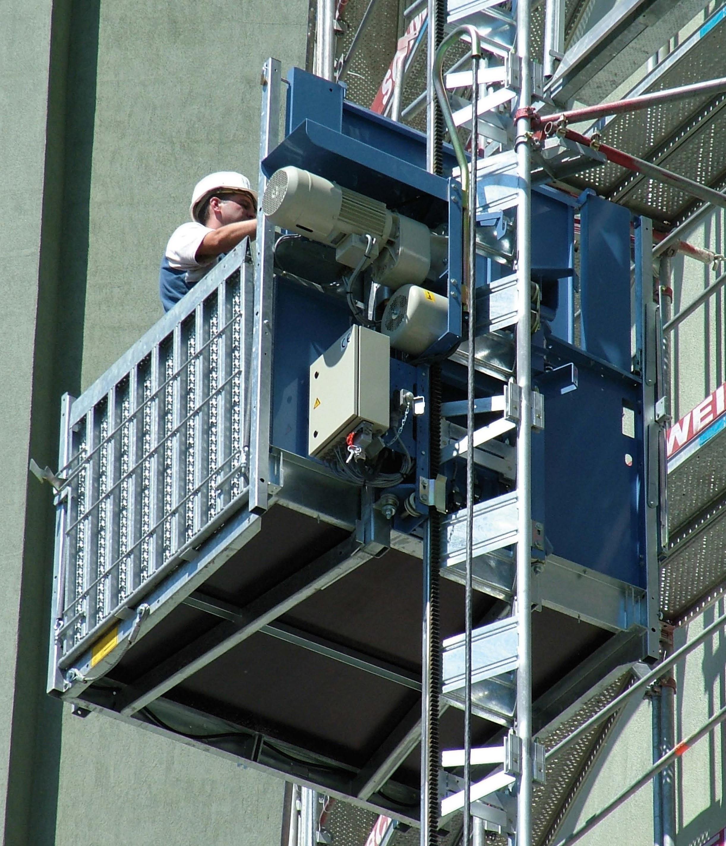 Personen- & Lastenaufzüge Mieten (Bauaufzüge)